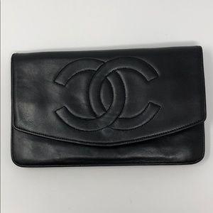 Chanel vintage wallet (lambskin)